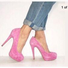 Aldo Suede Patternless Heels for Women