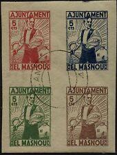 Spagna - 1936/37 - Guerra Civile - El Masnou - usato