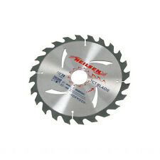 "CT2519 3PC 185mm (7-1/4"") TCT Circular Saw Blades 20 24 & 40 Teeth With Reducers"