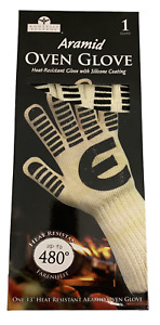 """13"""" Silicone Oven Glove Pack of one glove Heat Resistant up to 480 Degrees Fahre"""