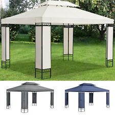 3x4 m metall pavillons g nstig kaufen ebay. Black Bedroom Furniture Sets. Home Design Ideas