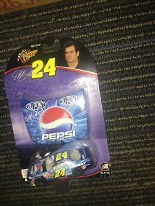 Winner's Circle Jeff Gordon #24 1:64 Car & Pepsi Cola Du Pont  Hood Race Car