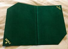 Vintage Rolex watch felt foldable countertop display pad 13.5x10 inch 1970s/80s