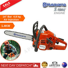 "Husqvarna Petrol Chainsaw 120 Mark II 14"" E-Start 2 Stroke Chain Saw 355mm 1.4KW"
