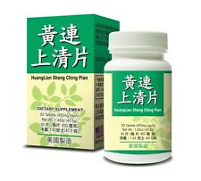 Huang Lian Shang Ching Pian Helps Headache Toothache Sore Throat Dry Stool USA