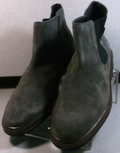BENSON GRAY MMPFBT90 Men's Shoes Size 9 EUR 8.5 Suede Zip Up Boots Mephisto
