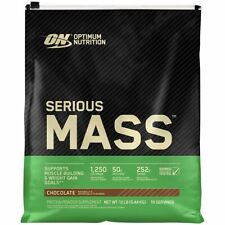 OPTIMUM NUTRITION SERIOUS MASS 12LB WEIGHT GAINER 1250 CALORIES DISCOUNTED SALE