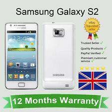 Samsung Galaxy S2 SM-i9100 Android Desbloqueado Teléfono Móvil 16GB Reino Unido Sim Libre Blanco