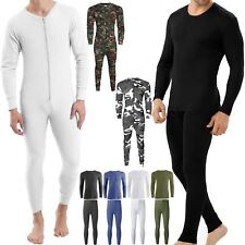 THERMALS FULL SETS UNDERWEAR TOPS LONG JOHNS SKIING SUIT BASE LAYER ALL IN ONE