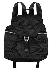 YMC quilted satin backpack