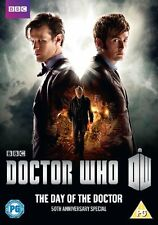 Doctor Who: The Day of the Doctor - 50th Anniversary Special *DVD* NEW