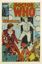 ESZ6632. DOCTOR WHO #13 Marvel Comics 7.0 F/VF (1985) Fourth Doctor TOM BAKER '