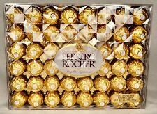 Ferrero Rocher Fine Hazelnut Chocolates, 48 Count Chocolate Gift Box Exp 04/2020