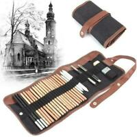 29 pcs/set Sketching Drawing Style Tool Kit With Pencils SH LZ S Charcoal