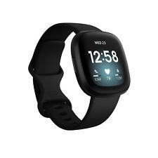 Fitbit Versa 3 Tracker di attività - Nero/Alluminio nero