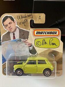 Matchbox 1/64 Austin Mini Cooper Mr Bean