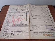 alter Original Frachtbrief an Felix Sturm von Albert Oechsle - von 1910  /S40