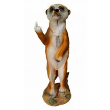 Meerkat With Rude Finger Poly Resin Statue Figurine Garden Decor Ornament 35cmH