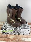 NWT Mens Forum League SLR Brown Snowboard Boots Size 9