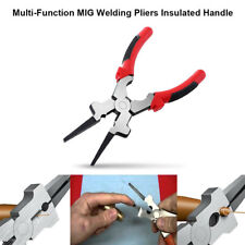 Multi Purpose MIG Welding Pliers / Pincers Quality Carbon Steel Insulated Handle