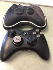 Custom Xbox 360 Wireless Controller shell casing buttons untested    8A