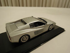 Minichamps Ferrari 512M Silver 1/43 Scale New in Box Ships From USA