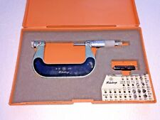 Mitutoyo Thread Micrometer No 126 139 2 3 With Some Tips 001