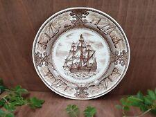 "Masons Ironstone ""The Royal Sovereign"" ship  / collectible plate"