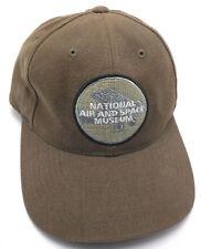 NATIONAL AIR & SPACE MUSEUM (WASHINGTON D.C.) brown adjustable cap / hat