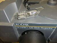 Slide projector bulb x1 KODAK EKTAPRO EKTALITE 82v 300w EXR 12092