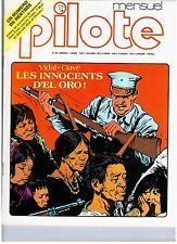 MAGAZINE PILOTE MENSUEL no 40 (1977) BILAL / FRED / F MURR / GOOSSENS...