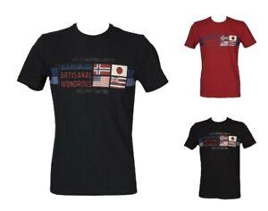 T-shirt uomo manica corta maglietta girocollo cotone NAPAPIJRI articolo  NP0A4F6