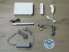 Nintendo Wii Konsole mit Zubehörpaket + Mario Kart + Remote