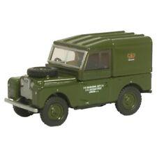 Coches, camiones y furgonetas de automodelismo y aeromodelismo Oxford Diecast Land Rover de escala 1:76