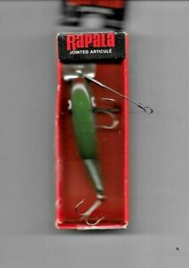 "vintage "" Rapala : JOINTED FLOATING Fishing Lure "" in original box"
