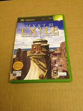 Myst III  Exile Com   Xbox (VGC) PAL