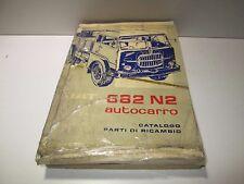 Manuale ricambi Fiat 682 N2 Autocarro edizione 1964  [3629.17]