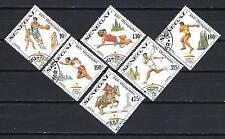 JO été Sénégal (44) série complète de 6 timbres oblitérés