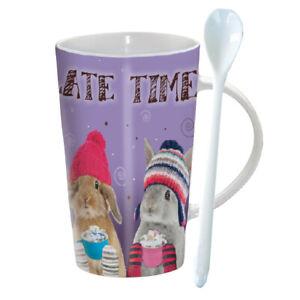 Chocolatte Hot Chocolate Mug - Chocolate Bunnies