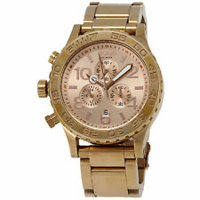Nixon 42-20 Chrono Rose Gold-tone Mens Watch A037897