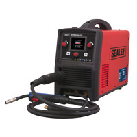 Sealey Inverter Welder MIG, TIG & MMA 200Amp with LCD Screen - INVMIG200LCD