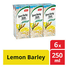 Barley Lemon Packet Drink YEOS - 250ML x 6 packets FREE SHIPPING
