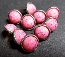 Pink Metal Scrapbooking Embellishments