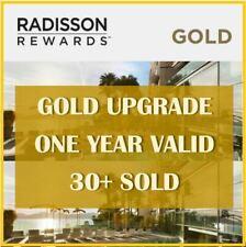 Club Carlson/Radisson Gold Status (Valid till 2020)
