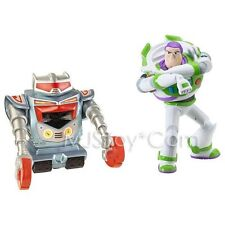 Nib Toy Story 3 Deluxe Sparks + Laser Blast Buzz Lightyear 5 inch Action Figures