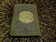 XXXRARE ORIG 1858 3RD ED MANUAL OF GAME OF BILLIARDS BY MICHAEL PHELAN ILLUST'D
