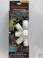New Diva Couture Fashion Nails with Gel Glue & Manicure Stick