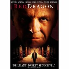 Red Dragon DVD 2003 Widescreen Collectors Ed Hopkins Hannibal Thriller Cannibal