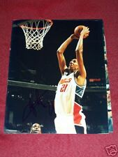 ALEXIS AJINCA SIGNED 8X10 PHOTO FRANCE BOBCATS COA RARE