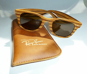 Ray-Ban Woodies - The most iconic & most rare Ray-Ban Wayfarers ever.